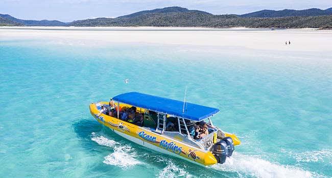 Snorkelling & Jet Rafting Tour, Whitsundays