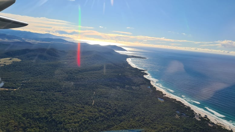 Freycinet Explorer Flight, 30 Minutes - Friendly Beaches