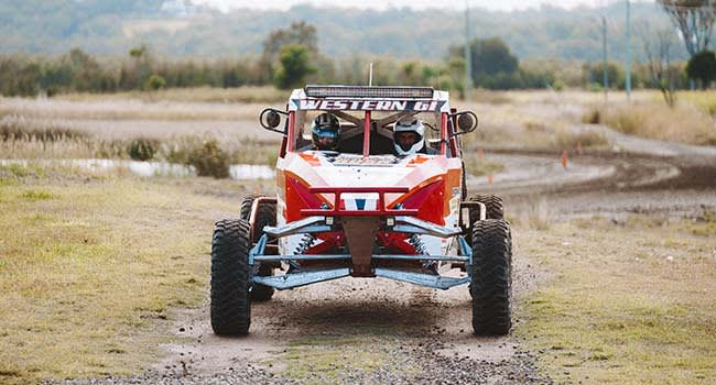 Off-road racing, the Gold Coast