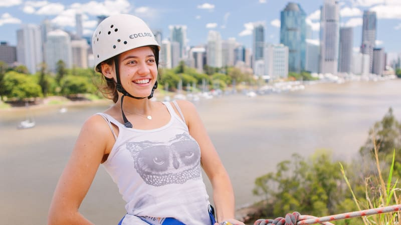 Abseil Kangaroo Point Cliffs. 1.5 Hours - Brisbane
