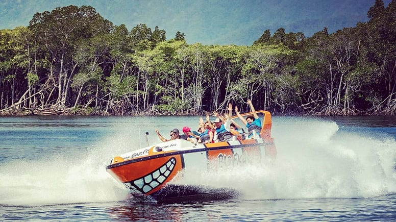 Jet Boat Thrill Ride, 35 Minutes - Cairns