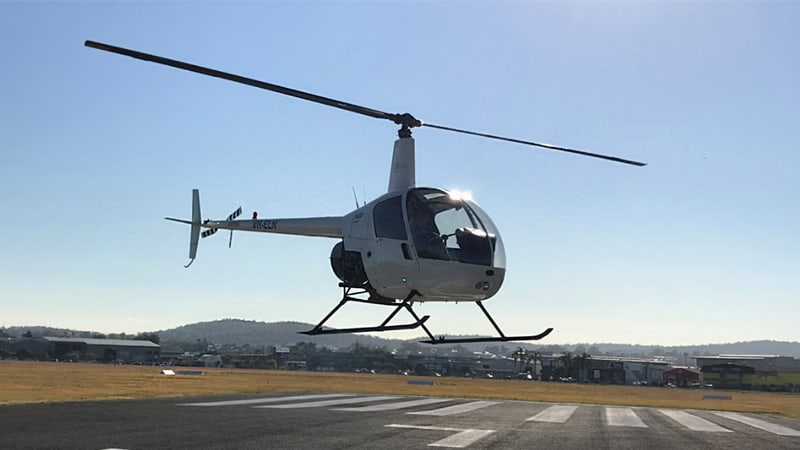 Learn to Fly Helicopter Flight, 30 Minutes - Brisbane
