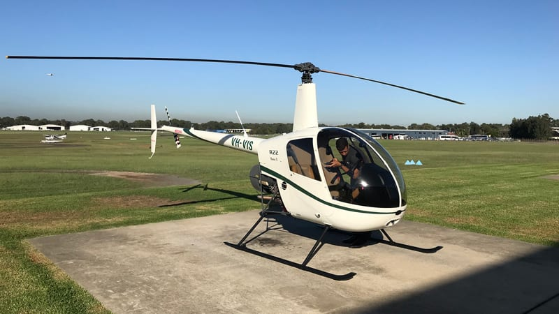 Learn to Fly Helicopter Flight, 40 Minutes - Brisbane