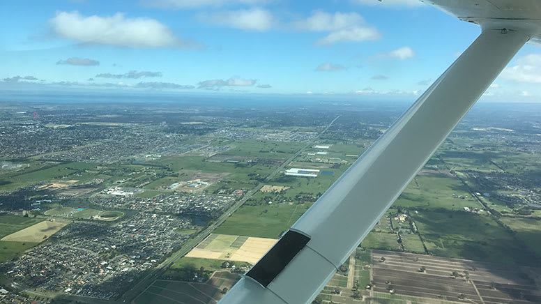 Light Aircraft Flying Lesson, 30 Minutes - Melbourne