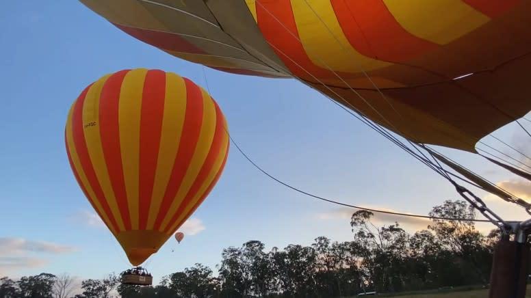 Hot Air Balloon Flight & 30 Minute Jet Ski Safari - Gold Coast - For 2