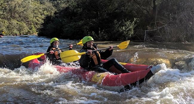 Whitewater Kayaking, Yarra River