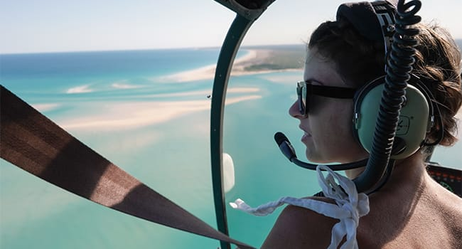 Helicopter Scenic Flight, Broome