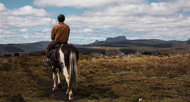 Cradle Mountain Horseback Ride, Tasmania