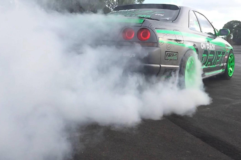 Drifting, 4 Drift Battle Hot Laps - Queensland Raceway, Brisbane
