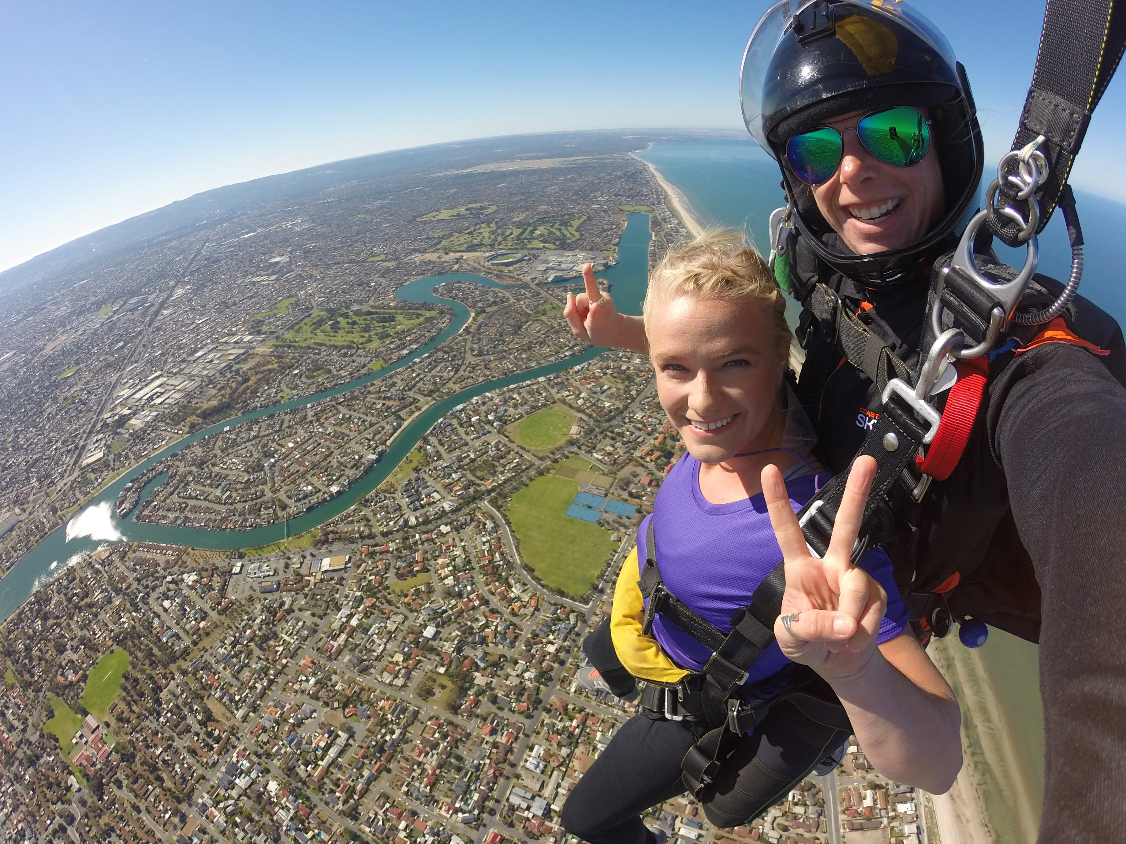 Tandem Skydive up to 15,000ft - Semaphore Beach, Adelaide