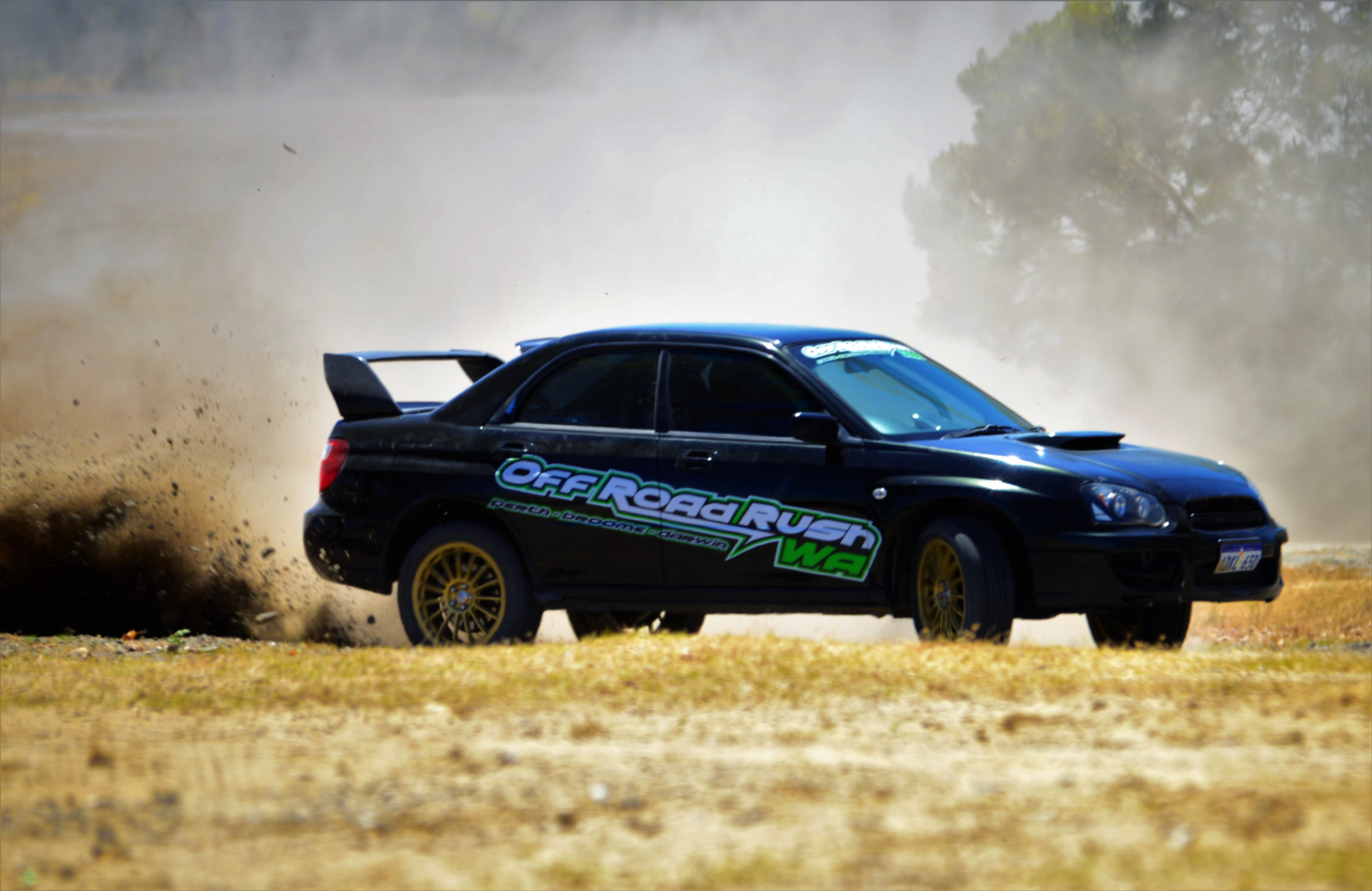 Subaru WRX Rally Cars, 4 Lap Drive & 1 Hot Lap - Perth
