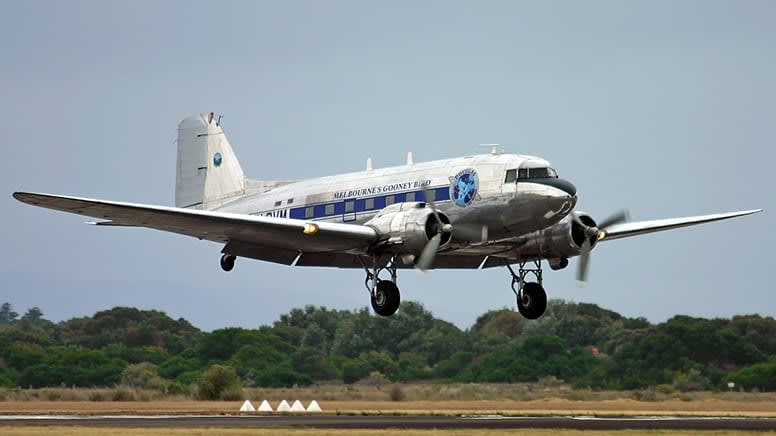 Historic DC3 Flight & Lunch At King Island - Melbourne