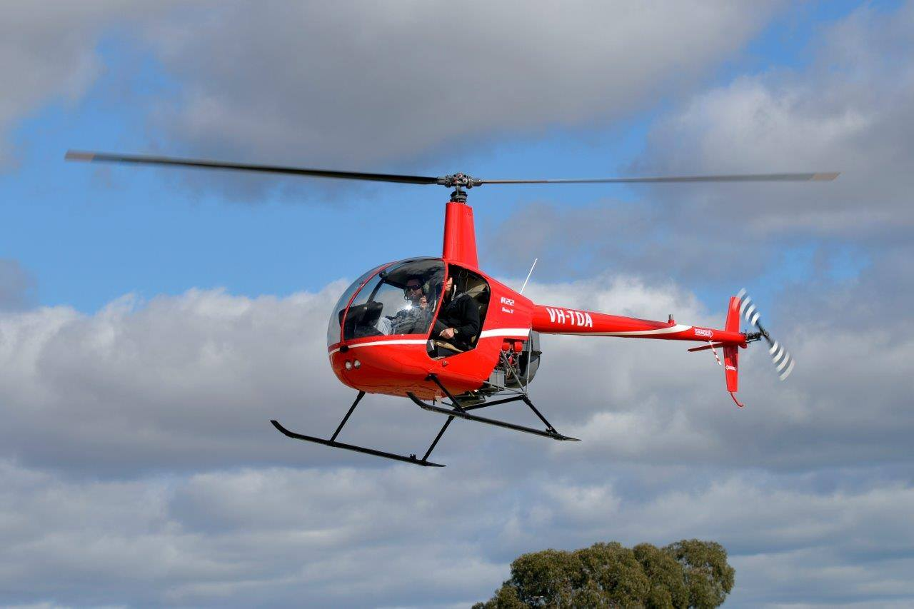 Learn to Fly an R22 Helicopter, 30 Minute Flight - Perth