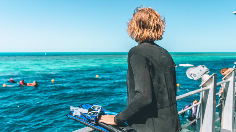 Great Barrier Reef Cruise with Snorkeling, Full Day - Whitsundays