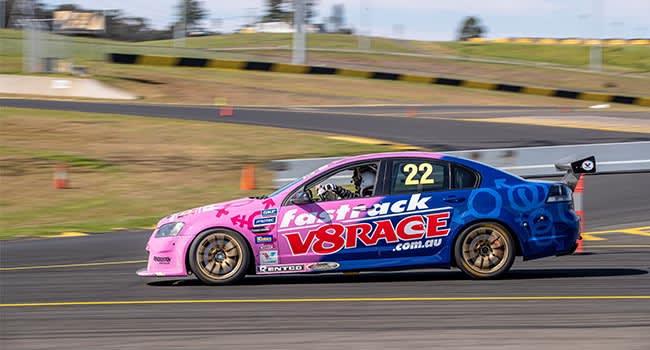 V8 Race Car 4 Lap Drive