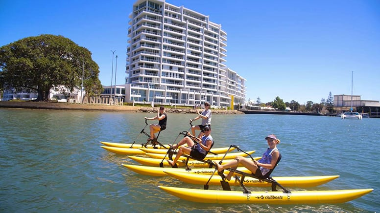 Water Bike Hire, 60 Minutes - Mandurah, Perth