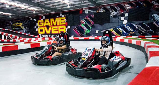 Go-Karting, Laser Tag and Indoor Climbing