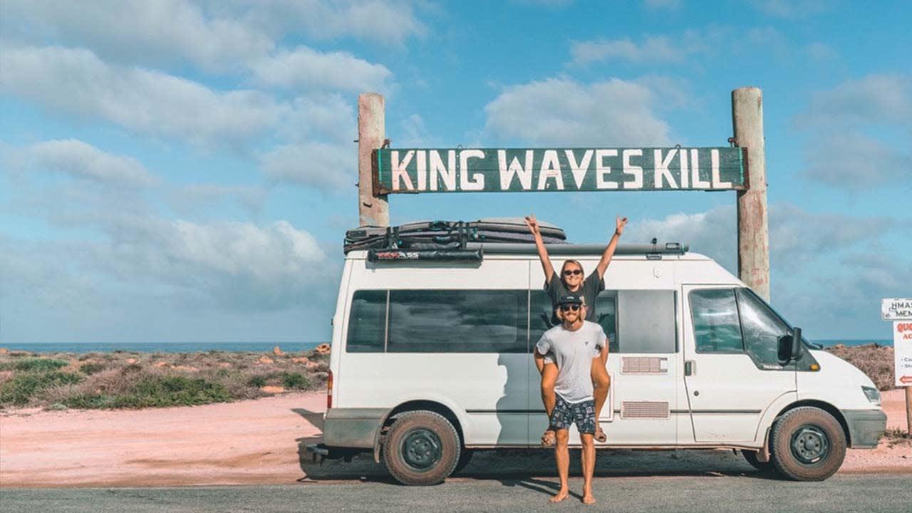 Meet the Adrenaline Crew: The Sandy Van