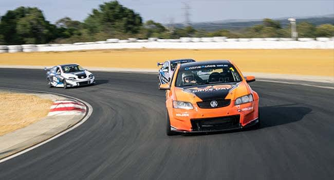 V8 Race Car drive