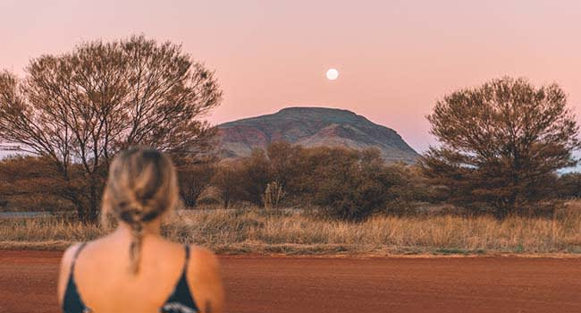 What's one tip you would give to someone who is looking to travel around Australia in a van?
