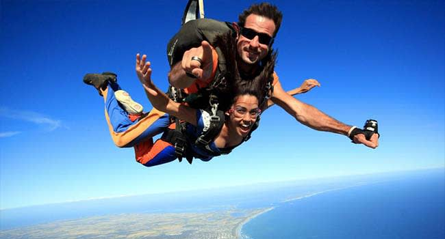 Tandem Skydive Up To 12,000ft, Barwon Heads