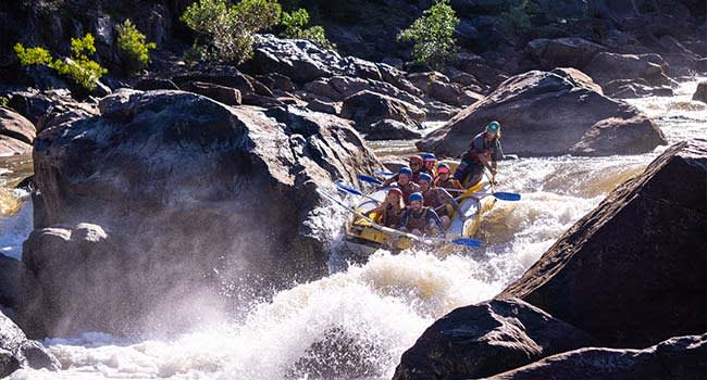 White Water Rafting, Barron Gorge
