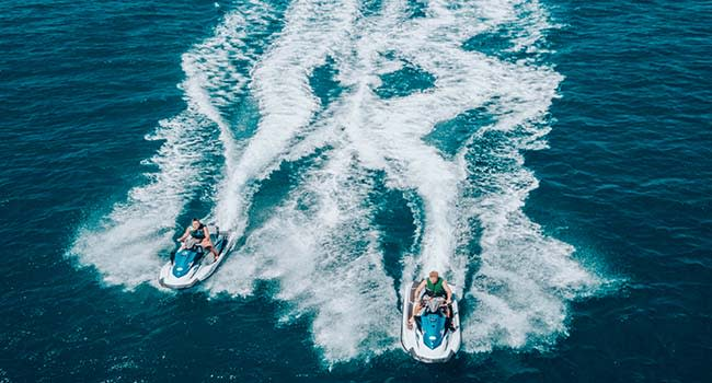 Jet ski tour, Perth
