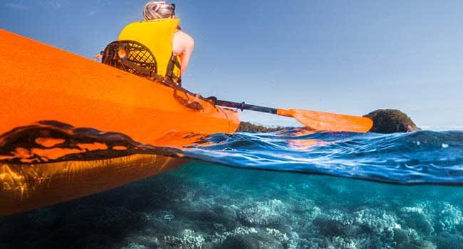 Sea kayaking tour, Cairns