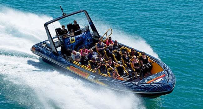 Jet boat ride, Fremantle