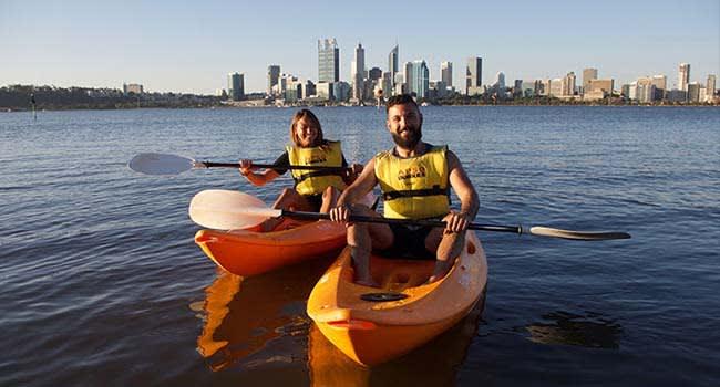 Kayak hire, Perth