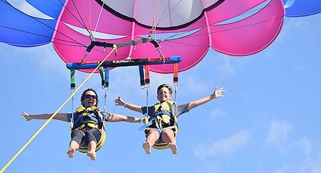 Tandem parasail flight & boat ride, Gold Coast