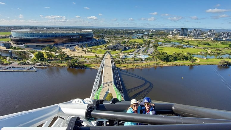 Perth Bridge Day Climb and Zip, 2 Hours - Perth