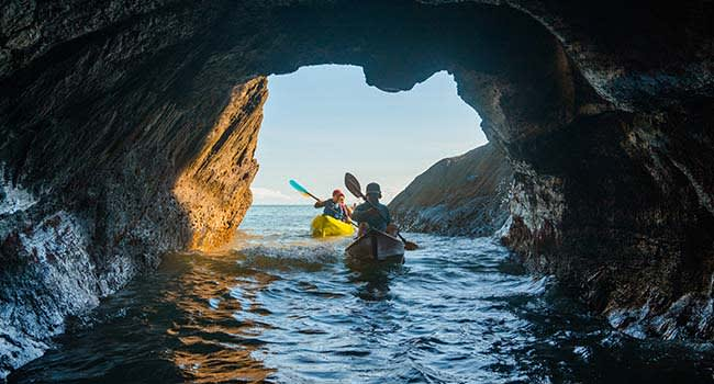 Kayaking tour, Great Barrier Reef
