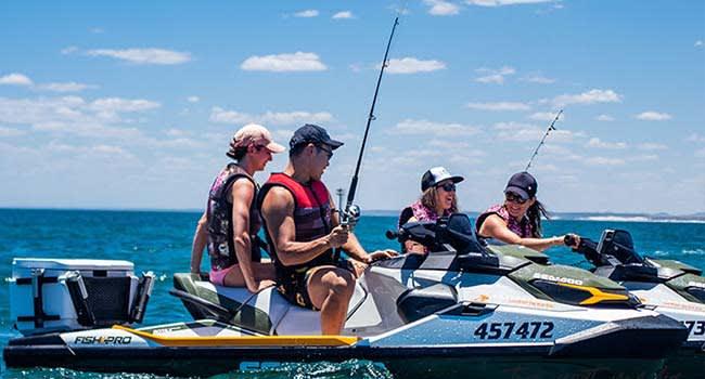Jet ski fishing, Geraldton