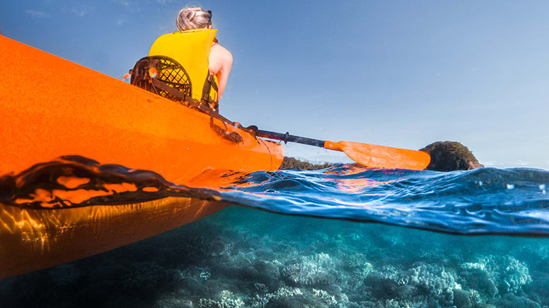Kayak Turtle Tour from Palm Cove to Double Island - Cairns