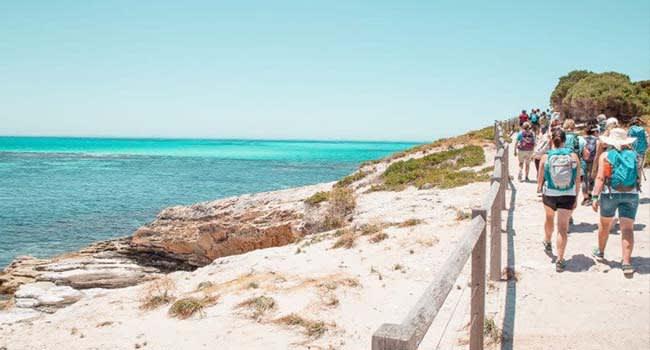 Rottnest Island Full Day Beaches Hike
