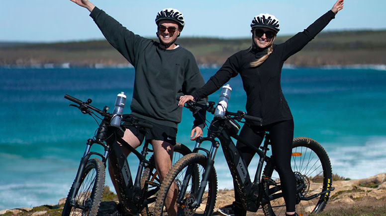 Guided Electric Mountain Bike Tour, 7 Hours - Port Lincoln