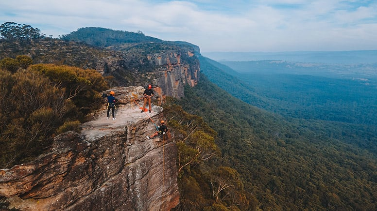 Abseiling, Half Day - Blue Mountains