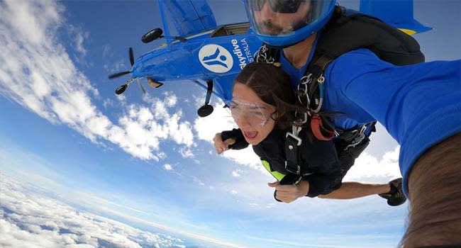 Tandem Skydive over Airlie Beach
