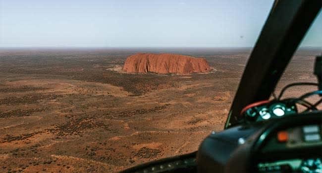 @AshleyDobson – Helicopter Scenic Flight, Uluru