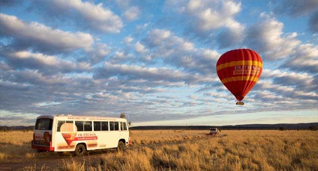 Alice Springs: Hot Air Ballooning