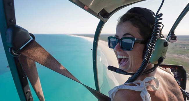 Broome: Helicopter Flight