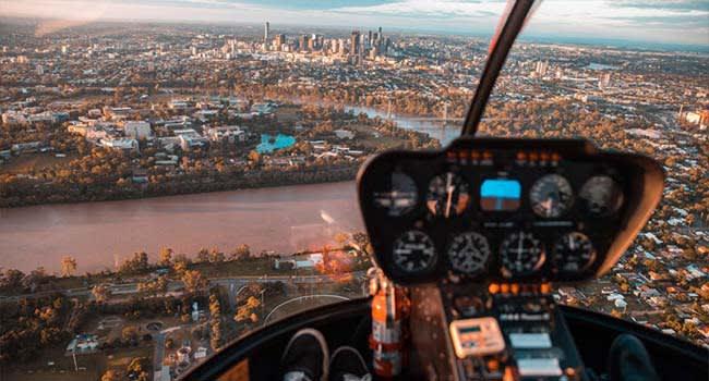 Brisbane: Private Helicopter Flight
