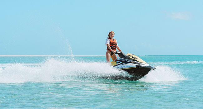 Fraser Island: Jet Ski Tour
