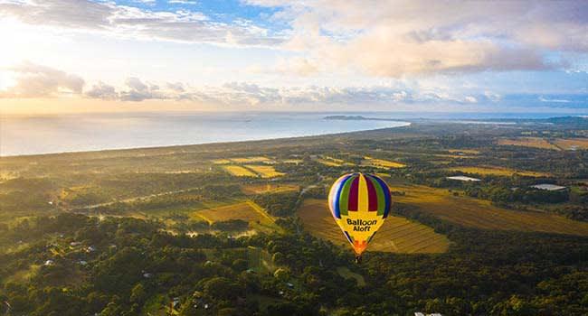 Byron Bay:  Hot Air Balloon Flight