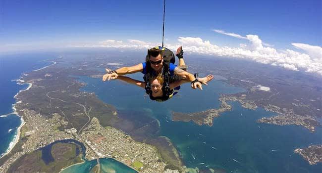 Newcastle: Skydiving