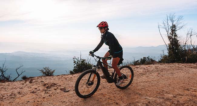 Swap leg day for mountain biking