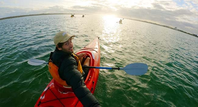 Swap crunches for kayaking