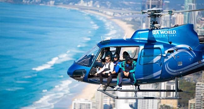 Tandem Helicopter Skydive, Surfers Paradise