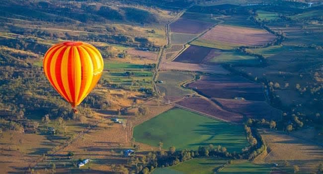 Hot Air Balloon Flight & Jet Ski Safari, Gold Coast